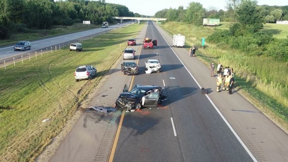Six-vehicle pileup sends an infant, adult to hospitals | WWMT