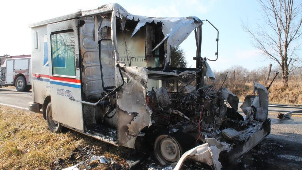 United States Postal Service Aging Delivery Vehicles Causing Fire