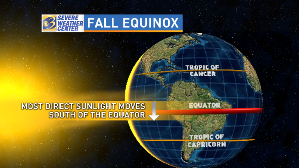 Fall finally begins in the Northern Hemisphere; explaining the autumnal  equinox   WWMT