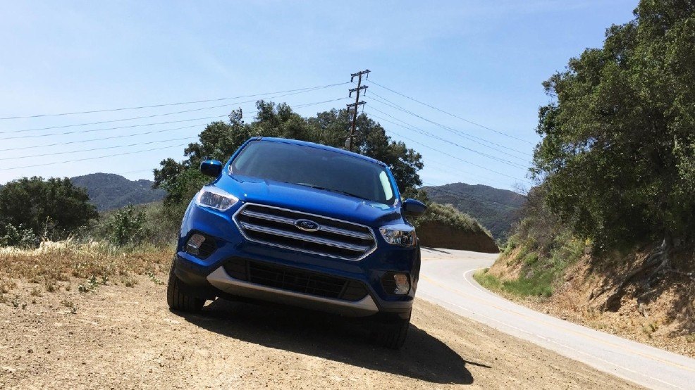 The 2017 Ford Escape Was One Of Four Suvs That Got An Acceptable Rating In Iihs Headlight Test None Received A Good