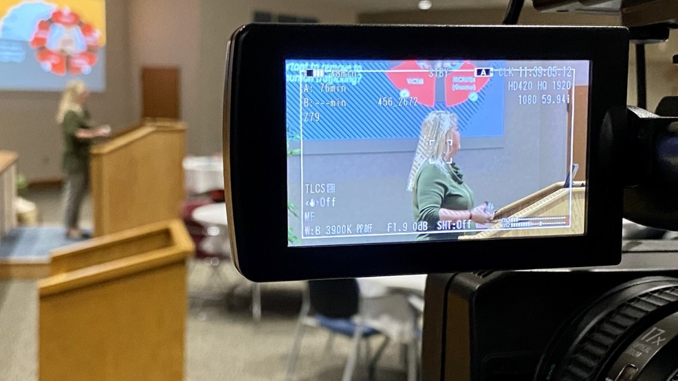 Sex-trafficking survivor talks at Ascension Borgess about experience as a victim