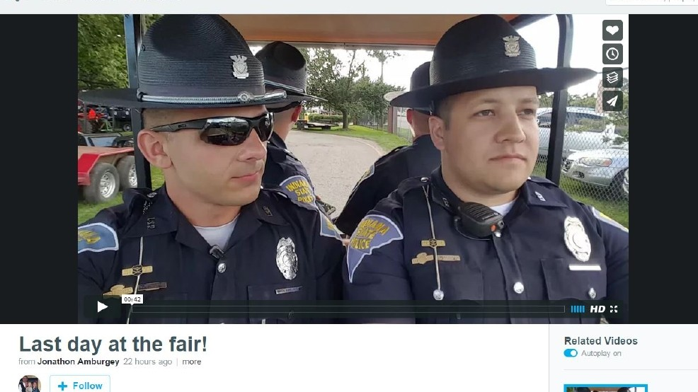 VIDEO: Indiana State Police lip sync 'Summer Nights' | WWMT