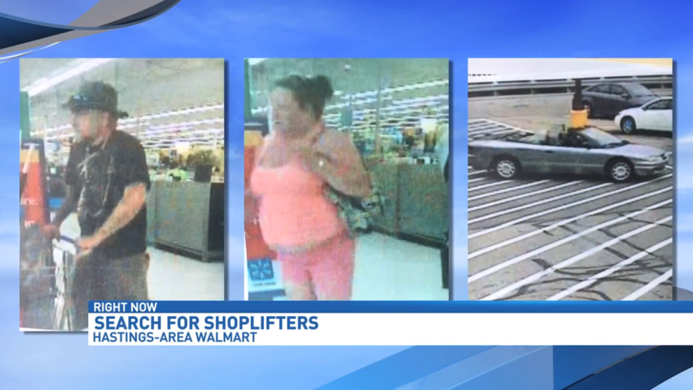 State Police looking for shoplifting suspects from Hastings Wal-Mart