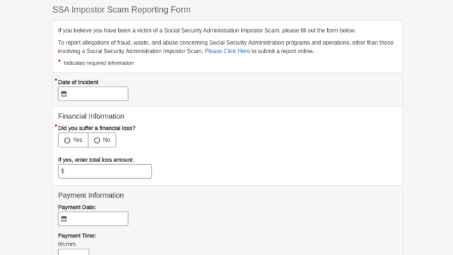 New Online Reporting Form Aims To Combat Fraudulent Phone Calls Wwmt