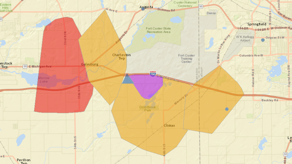 3,500+ outages reported in Kalamazoo, Calhoun Counties | WWMT
